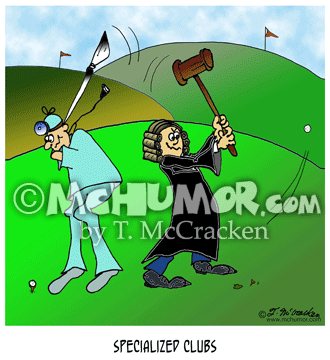 Golf Cartoon 8249