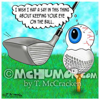 Golf Cartoon 9149