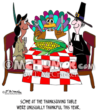 Thanksgiving Cartoon 9158