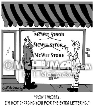 Business Cartoon 5051