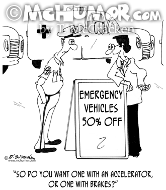 Emergency Cartoon 7035