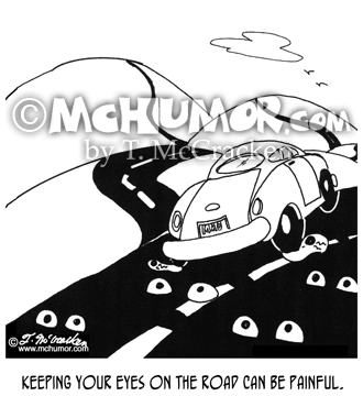 Driving Cartoon 7414