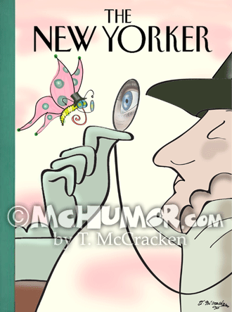 New Yorker Cover 8581