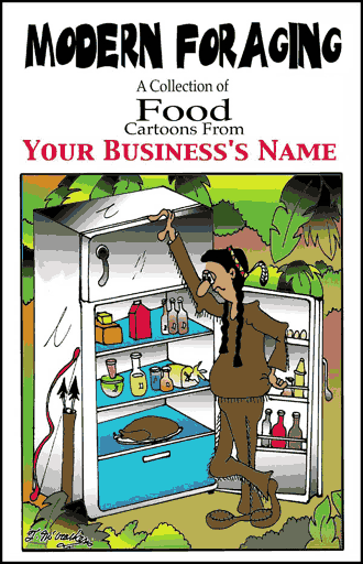 Food Cartoon Book