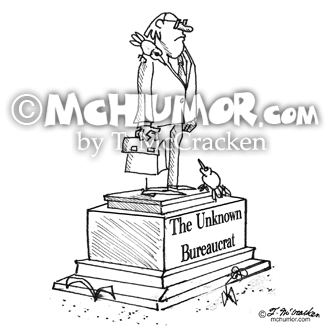 Bureaucrat Cartoon 1401