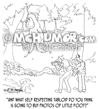 Bigfoot Cartoon 9298