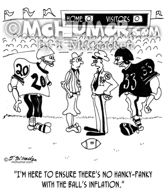 Football Cartoon 9356