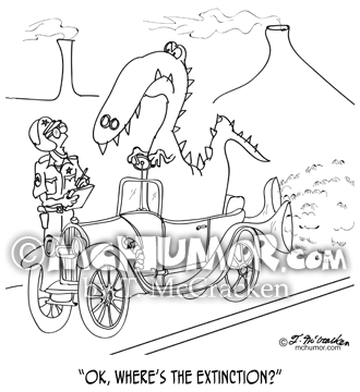 Extinction Cartoon 9325