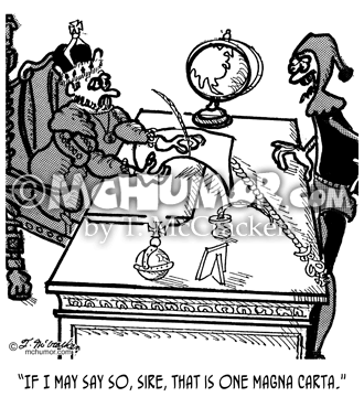 Magna Carta Cartoon 2639