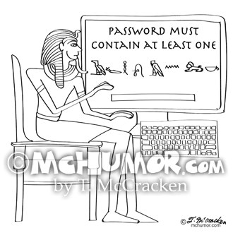 Computer Cartoon 9341