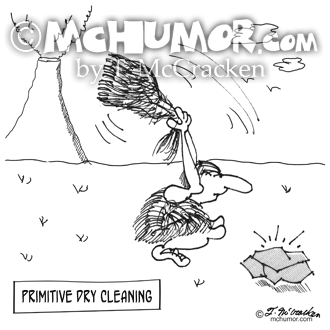 Dry Cleaning Cartoon 2892