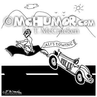 Towing Cartoon 8178