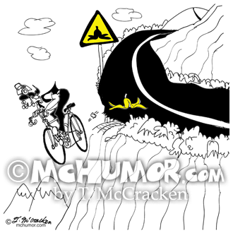 Bicycle Cartoon 9334