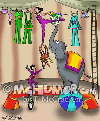 Circus Cartoon 9376