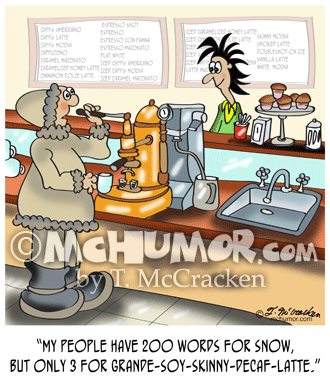 Coffee Cartoon 9391