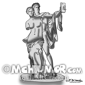 Statue Cartoon 9417